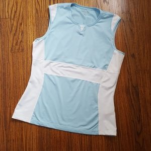 Athleta Powder Blue Workout Tank Top M
